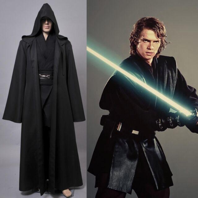 Star Wars Revenge of the Sith COSplay Costume Darth Vader Anakin Skywalker Suit