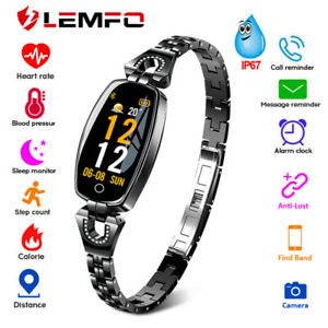 Lemfo-H8-Montre-Intelligente-Femme-Cadeau-Pour-Samsung-Huawei-IOS-smart-watch
