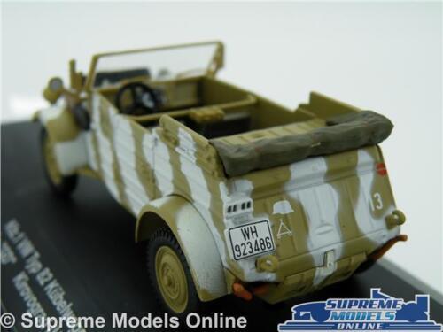 VW KUBELWAGEN modelo de coche tipo 82 Kirovograd Ucrania 1:43 escala 1945 militar K8