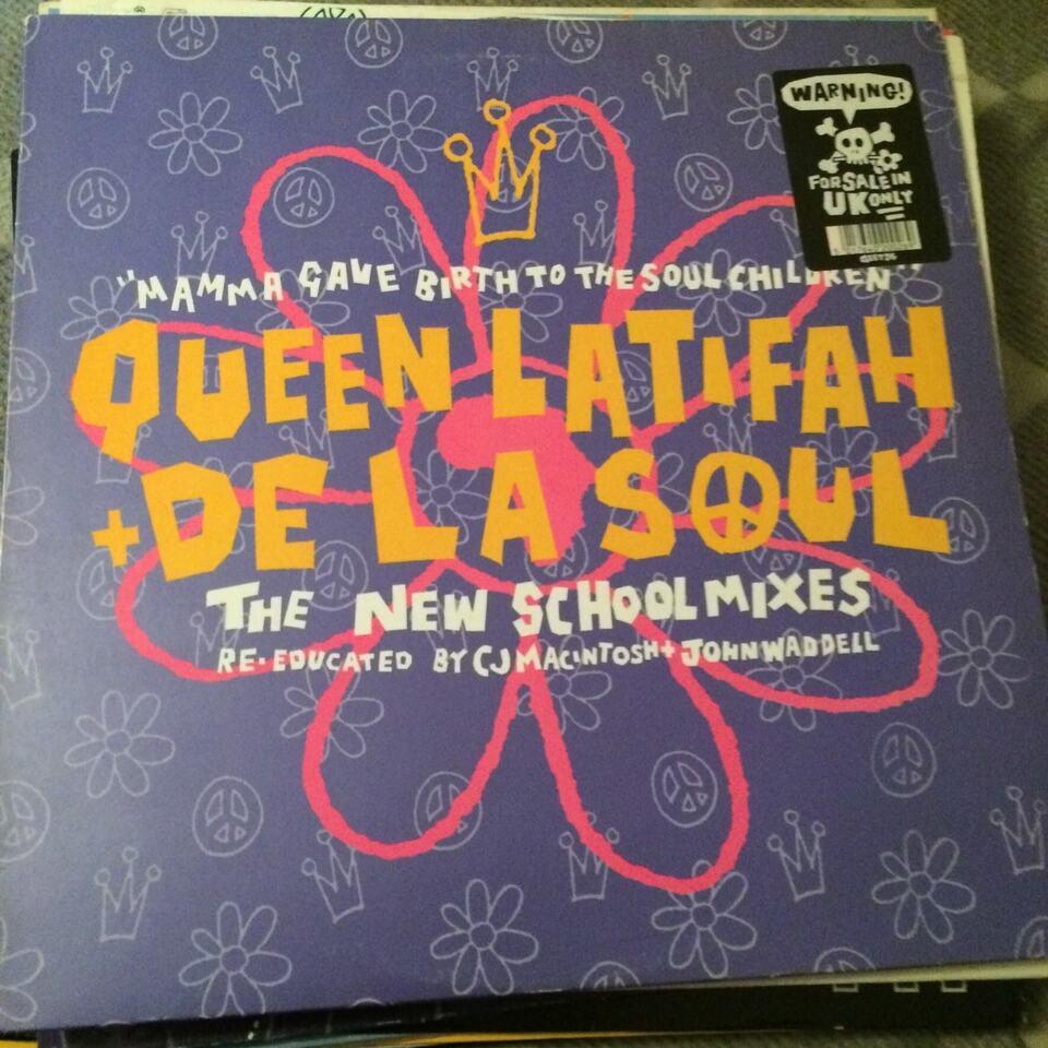 LP, De la soul - Queen latifah - jungle brothers - , Monie love