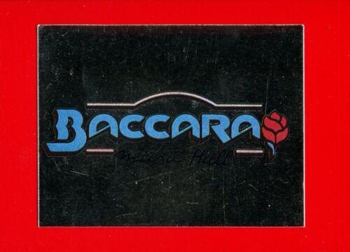 DISCOTECHE /'93 -Panini 1993- Figurine-stickers BACCARA LUGO -New 39 n