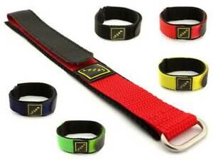 Wrap-Around Nylon Watch Strap Band Sport 16 18 20 22 Hook & Loop MM