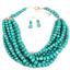 Women-Bohemian-Choker-Chunk-Crystal-Statement-Necklace-Wedding-Jewelry-Set thumbnail 137