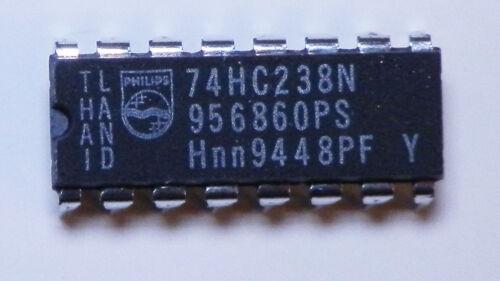 5 EA Leaded Universal 74HC238 IC 3 Line to 8 Line Decoder