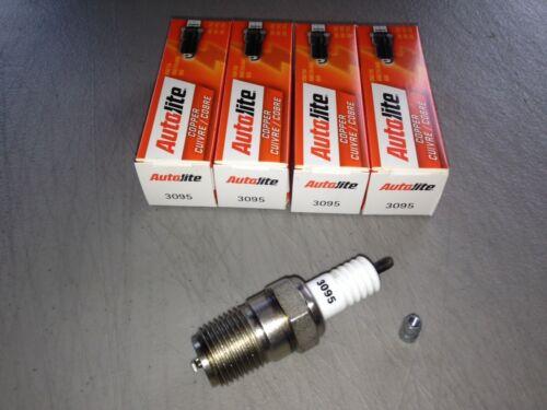 FOUR 4 Autolite 3095 Spark Plug SET fits Hit//Miss Maytag 92 Old Car//Truck//Farm