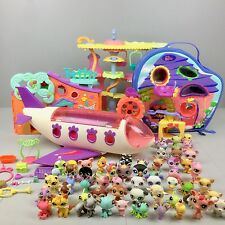 LPS LITTEST PET SHOP HUGE LOT VGUC 61 Pet Town Airplane Club House Carrying Case
