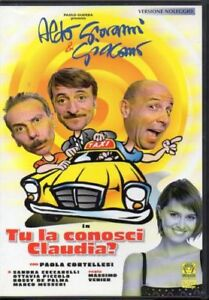 DVD-TU-LA-CONOSCI-CLAUDIA-EX-RENTAL-ALDO-GIOVANNI-amp-GIACOMO-Film-Movie