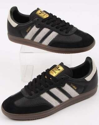all nero adidas samba scarpe