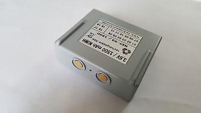 MINI 3,6 V//1500 mAh//NiMH  68300900 FBH300 NM 2 x Akku Hetronic// Abitron NOVA