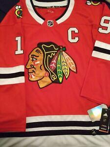 NHL-chicago-blackhawks-jersey-authentic-adidas-Jonathan-Toews-Size-L-52