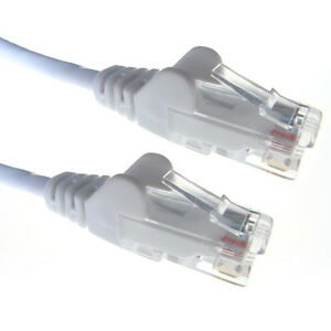 5m-WHITE-Network-Cable-RJ45-LAN-Patch-Lead-Cat5e