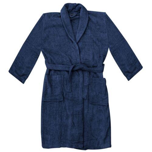 UNISEX LUXURY TOWELLING BATH ROBE DRESSING GOWN TOWEL SOFT FLEECE