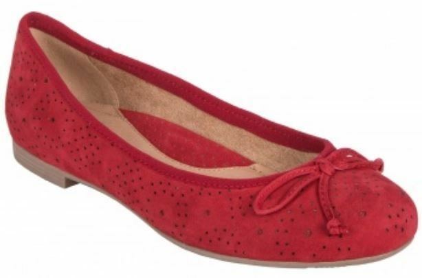 4be24fec30b Earth Women's Allegro Bright Red Ballet shoes Sizes Flats 602167W ...