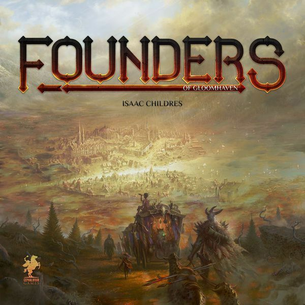 Founders of Gloomhaven Boardgame New by Cephalofair Games SLIGHT DAMAGE ON BOX
