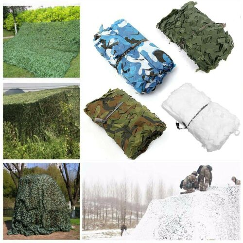 Camouflage Camo Net Netting Hide Hunting Military Army Woodland Camp