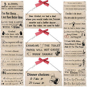 Shabby-Chic-Novelty-Wooden-Hanging-Plaques-Family-Kitchen-Home-Animal-Pets-Sign