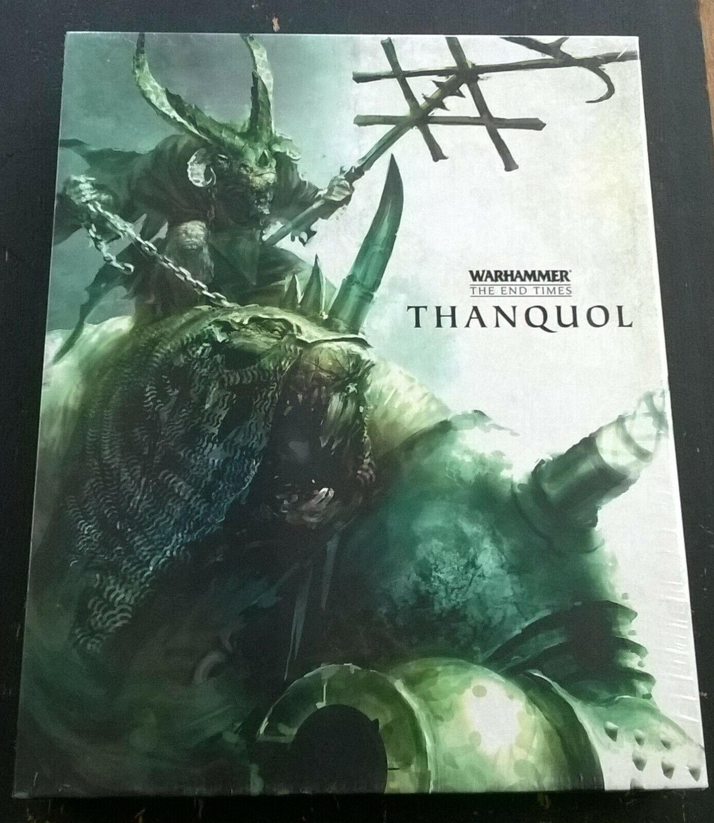 Warhammer The End Times vol 4 THANQUOL - 2 VOL - Juegos Workshop OOP sealed