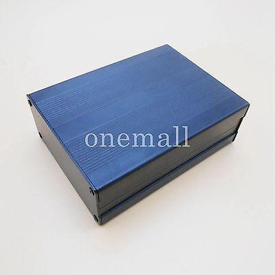 Black Aluminum Project Electronic components box Instrument Case 100x76x35mm NEW