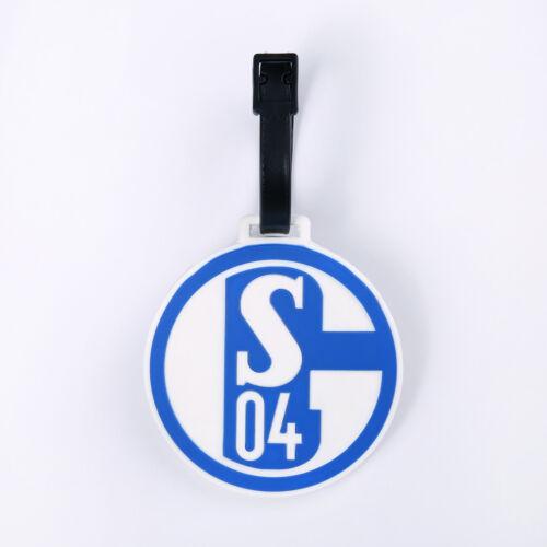FC Schalke 04 Valise REMORQUE valise Bouclier BADGE NEUF