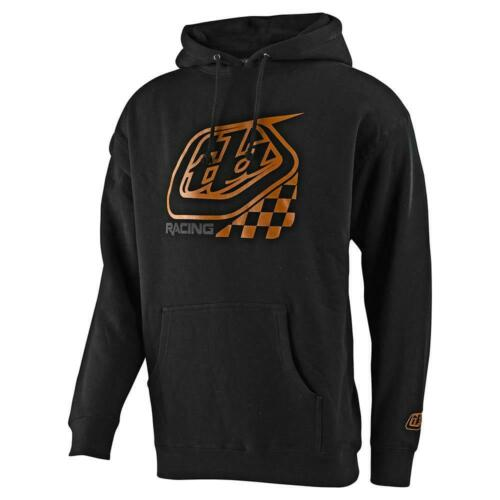 Troy Lee Designs Precision 2.0 Checkers Mens Pullover Hoody Black
