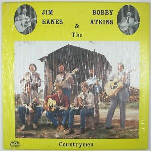 JIM-EANES-BOBBY-ATKINS-amp-THE-COUNTRYMEN-Self-Titled-LP-1986-BLUEGRASS-NM-NM