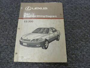 1997 Lexus ES 300 Sedan Electrical Wiring Diagram Manual 3 ...
