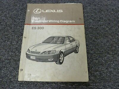 1997 Lexus ES 300 Sedan Electrical Wiring Diagram Manual 3 ...