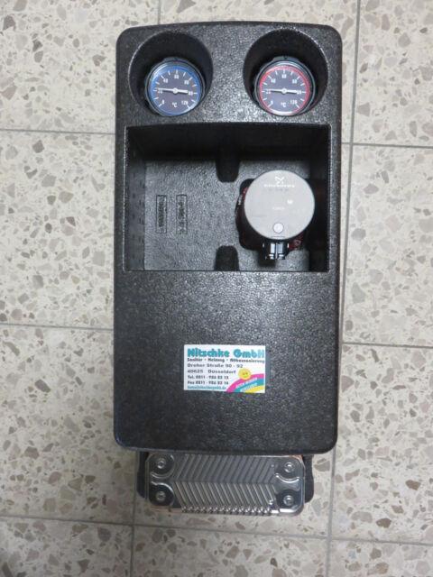 Pumpengruppe Regumat S180 DN 25 + Grundfos Alpha 25/40 + Systemtrennung f.30