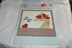 Hearts-Full-Of-Love-Counted-Cross-Stitch-Designs-Gloria-Pat-59-Pillow-Picture