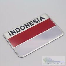 3D Republik Indonesia Flag Jakarta Auto Car Fender/Trunk Emblem Badge Sticker