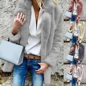 Femme-fashion-hiver-fausse-fourrure-manteau-a-manches-longues-fourrure-veste-manteau-Cadeau