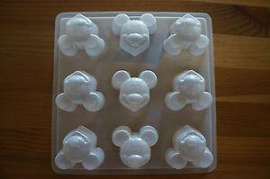 Mickey Mouse Chocolate Jello Steam Pudding Plastic Mold