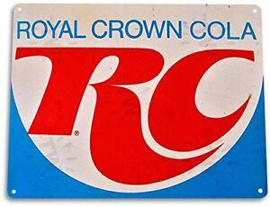 RC-Cola-Royal-Crown-Vintage-Tin-Metal-Sign