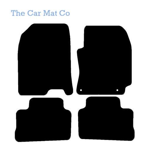 Fully Tailored Black Carpet Car Mats for Hyundai Kona 2017 Onwards