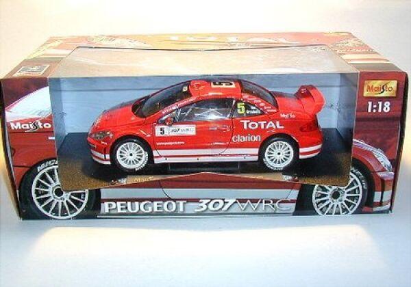 Peugeot 307 WRC Driver Gronholm WRC Rallye 2003