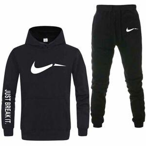 Details zu Herren Jogging Anzug Trainingsanzug Kapuzenpullover Hose Sportanzug Pullover