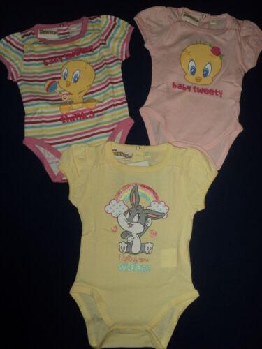 24M NEU Looney Tunes Baby Body für Mädchen Gr.3 M.