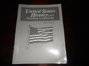ABEKA United States History student textbook and teacher guide homeschooling 11
