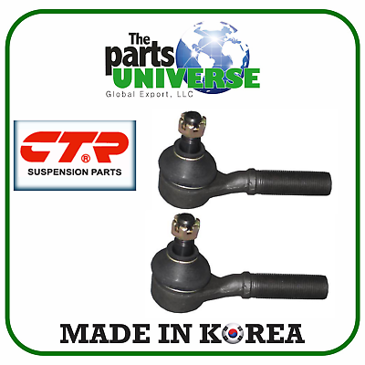 Front Inner Tie Rod LH /& RH Pair Set of 2 NEW for 86-97 Nissan D21 Pickup 2WD