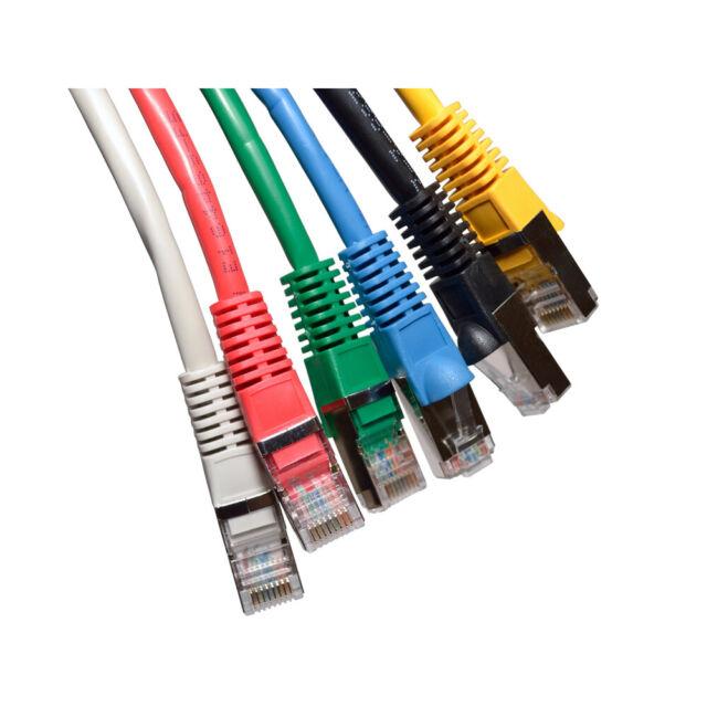 Blindé Cat5e Réseau Ethernet Câble Snagless RJ45 réseau LAN FTP Patch plomb cuivre