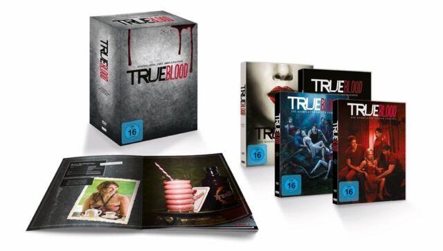True Blood Staffel 1-4 + Comic und Kochbuch exklusive Edition  NEU & OVP