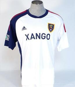 Adidas ClimaCool Real Salt Lake White Short Sleeve Soccer Jersey ... c8083ac73
