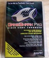 Gameshark Pro V3.0 Playstation 1 + How To Hack Like A Pro Vhs Ps1 Sv-1104e