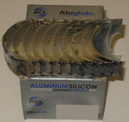 ACL 5M1937A-.50 Aluglide Main Crank Bearings Honda H22A1 H23A F22A F22B .50mm