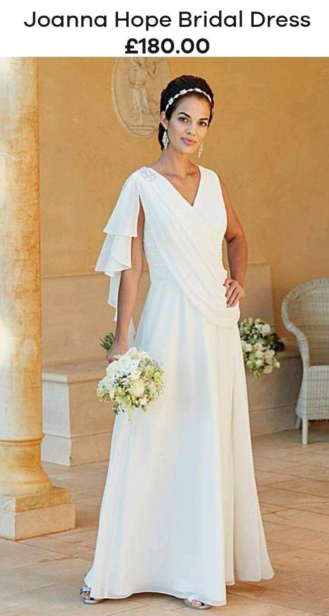 Joanna Hope Ivory Bridal  Dress Plus Größe 28