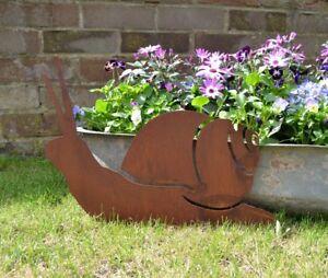 Details zu Rusty SNAIL Sign Metal Shop Home Garden Ornament Decoration  Animal