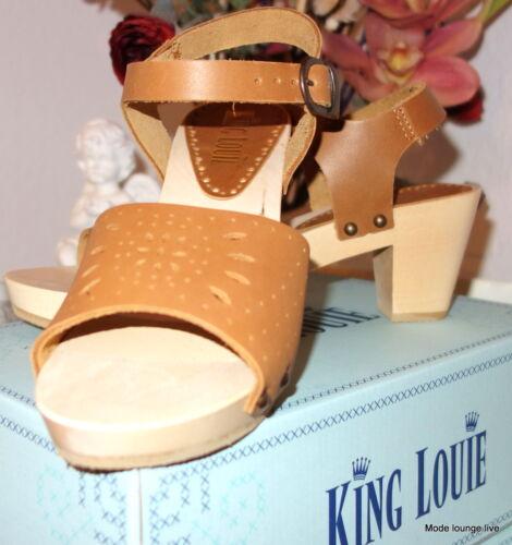 En Bluehaven Bleu Louie Sandales King Chaussures Sabots Marron Cuir htrCsxdQ