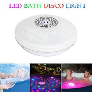 Floating Light Hot Tub & Pool BESTWAY FLOWCLEAR - Lay-Z-Spa LED Bath Disco Light