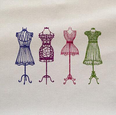 Sewing Dress Making Printed Fabric Panel Make A Cushion