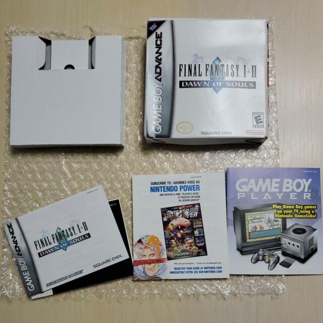 Final Fantasy I & II: Dawn of Souls Box/ Manuals/Inserts Only.